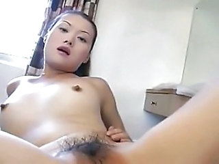 Amateur Asian Hairy Pussy Small Tits Teen