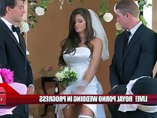 Babe Big Tits Bride Brunette Pornstar Stockings