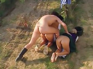 Anal Asian Doggystyle Hardcore Outdoor Threesome