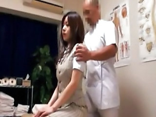 Asian Doctor MILF Uniform