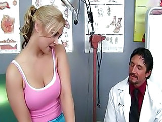 Babe Big Tits Blonde Doctor Pornstar Uniform