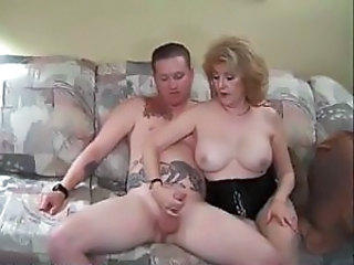 Big Tits Blonde Handjob Mature Mom