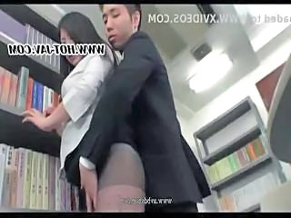 Asian MILF Office Pantyhose Secretary