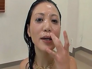 Bukkake Cumshot Facial Japanese