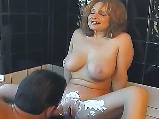 Big Tits MILF Pussy Shaved