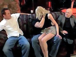 Blonde Gangbang Swingers Wife