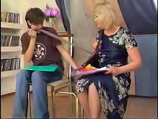 Amateur Blonde Mature Mom Pantyhose
