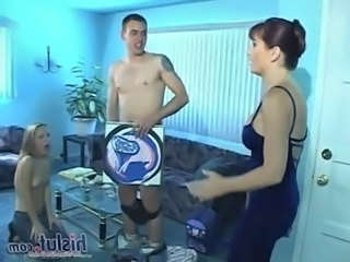 Babysitter Cute Teen Threesome