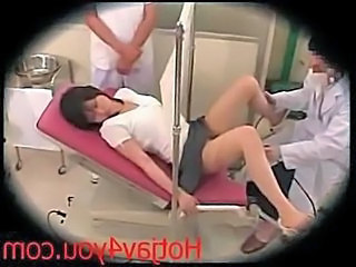 Doctor Japanese Teen Threesome Uniform