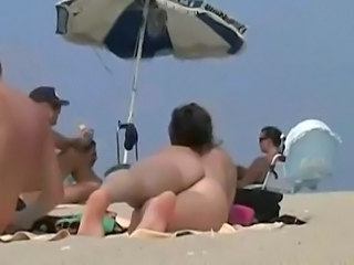 Beach Nudist Outdoor Voyeur Young