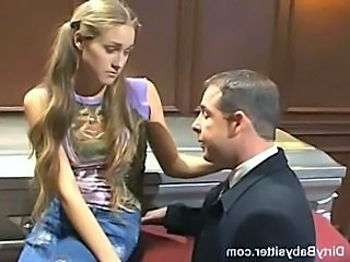 Babysitter Blonde Cute Teen