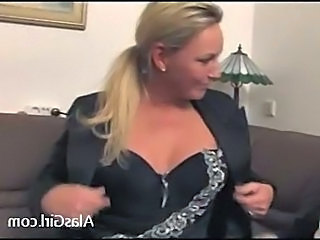 Blonde MILF Office Secretary