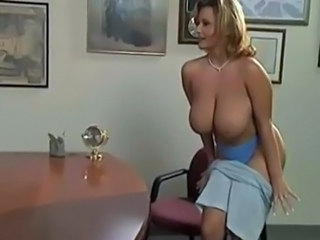 Amazing Big Tits MILF Natural Office Pornstar Stripper Vintage