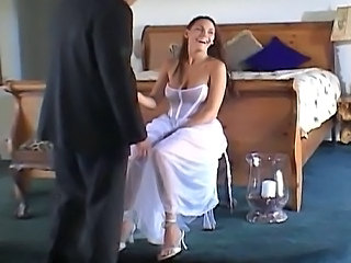 Big Tits Bride Cute MILF Threesome