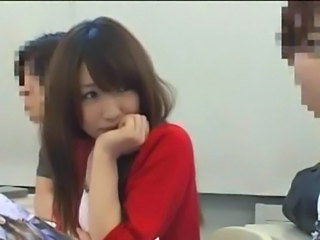 Asian Cute Japanese School Student Teen Young