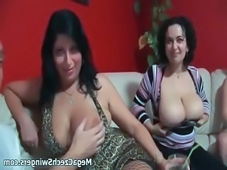 Nasty mature women get horny showing off part4