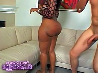 Ass Ebony Interracial MILF