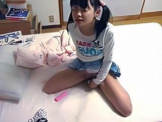 Asian Cute Japanese Masturbating Pigtail Sister Skirt