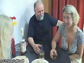 Daddy Drunk Family Mature