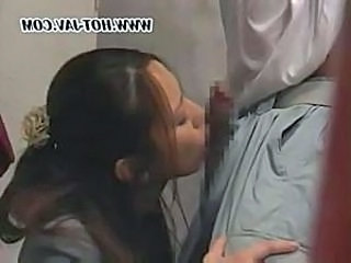 Asian Blowjob Clothed Japanese Small cock Teen Young