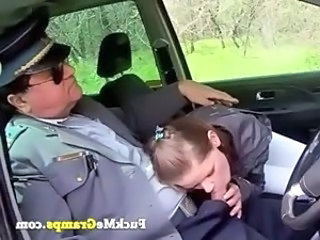 Blowjob Cash Car Clothed Old and Young