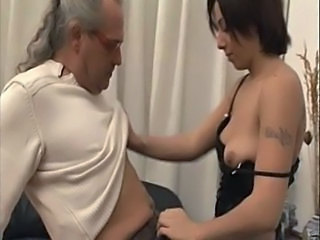 Amateur Daddy Daughter Old and Young Tattoo Young