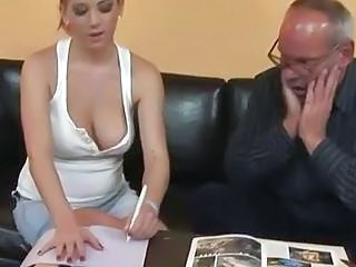 Daddy Daughter Natural Old and Young Teen