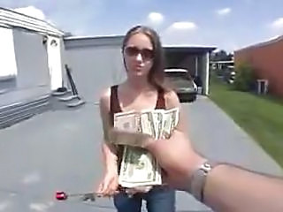 Amateur Cash Outdoor Teen