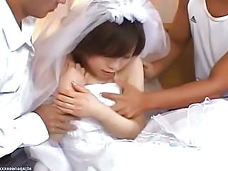 Asian Bride Teen Threesome