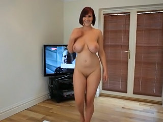 Amazing Big Tits Cute Dancing MILF Natural