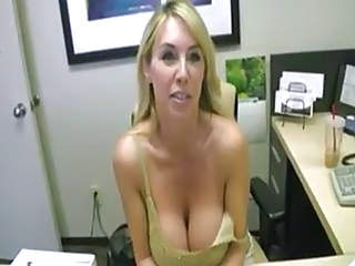 Big Tits MILF Office Wife