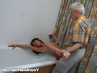 Asian Bathroom Daddy Hardcore Korean Skinny