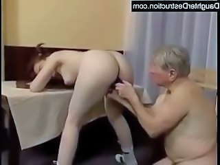 Ass Cute Daddy Daughter Masturbating Old and Young Toy