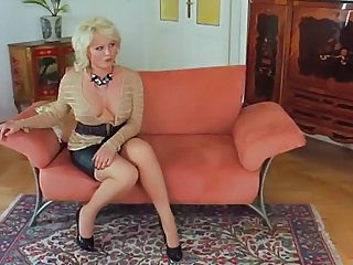 Big Tits Blonde Mature Mom