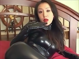 Asian Fetish Japanese Latex MILF