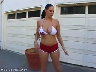 Amazing Big Tits MILF Natural Pornstar Sport