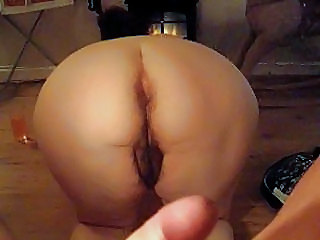 Anal Chubby Doggystyle Hairy Wife
