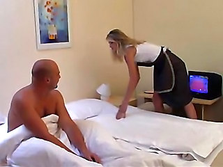 Amazing Anal Maid MILF Uniform