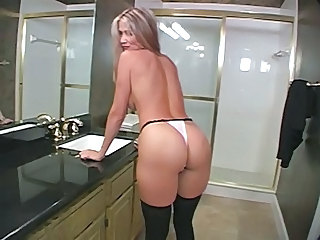 Ass Bathroom MILF Mom Panty Pov
