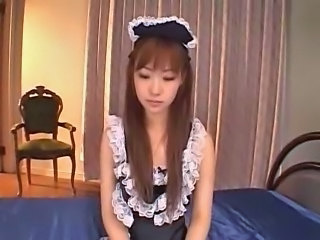 Amazing Asian Japanese Maid Pornstar