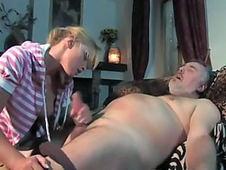 Handjob Italian MILF Old and Young