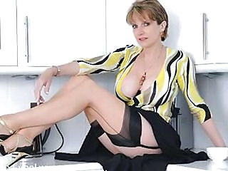 Big Tits British European Legs MILF Stockings
