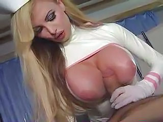 Amazing Big Tits MILF Nurse Pornstar Silicone Tits Tits job Uniform