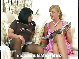 Lesbian Mature Old and Young Stockings Teen
