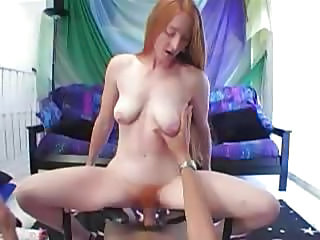 Amateur Pov Redhead Riding SaggyTits Teen