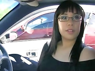 Amateur Car Glasses Gloryhole MILF