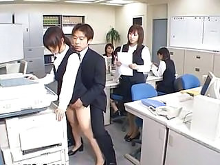 Cute Asian Secretary Screwed