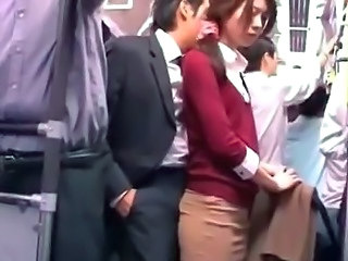 Asian Bus Japanese Public Student Uniform Young