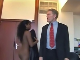 Ebony Interracial Old and Young
