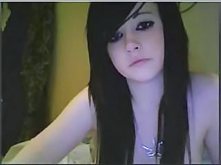 Brunette Goth Webcam